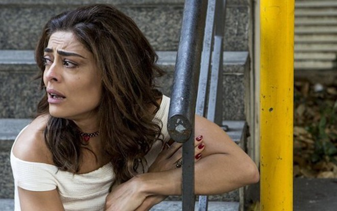 Bibi (Juliana Paes) abandonará tudo para fugir com marido na novela das nove da Globo - Fabio Rocha/TV Globo