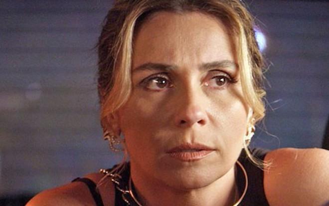 Giovanna Antonelli (Atena) em cena de A Regra do Jogo, novela das nove da TV Globo - Reprodução/TV Globo