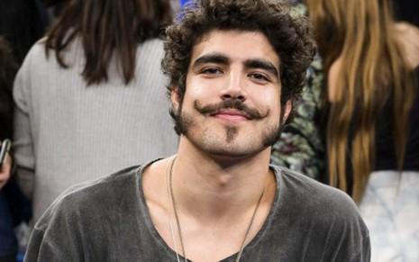 O ator Caio Castro durante participação no Altas Horas em agosto deste ano: rumo à Band - Ramón Vasconcelos/TV Globo