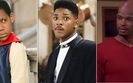 Tyler James Williams, Will Smith e Damon Wayans protagonizam séries exibidas no Comedy Central - Divulgação/CW/NBC/ABC