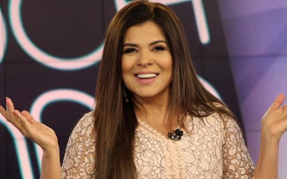 Mara Maravilha deixou o Fofocalizando  apresentadora estava no programa  desde setembro de 2016 - DIVULGAÇÃO 9103f9eb36