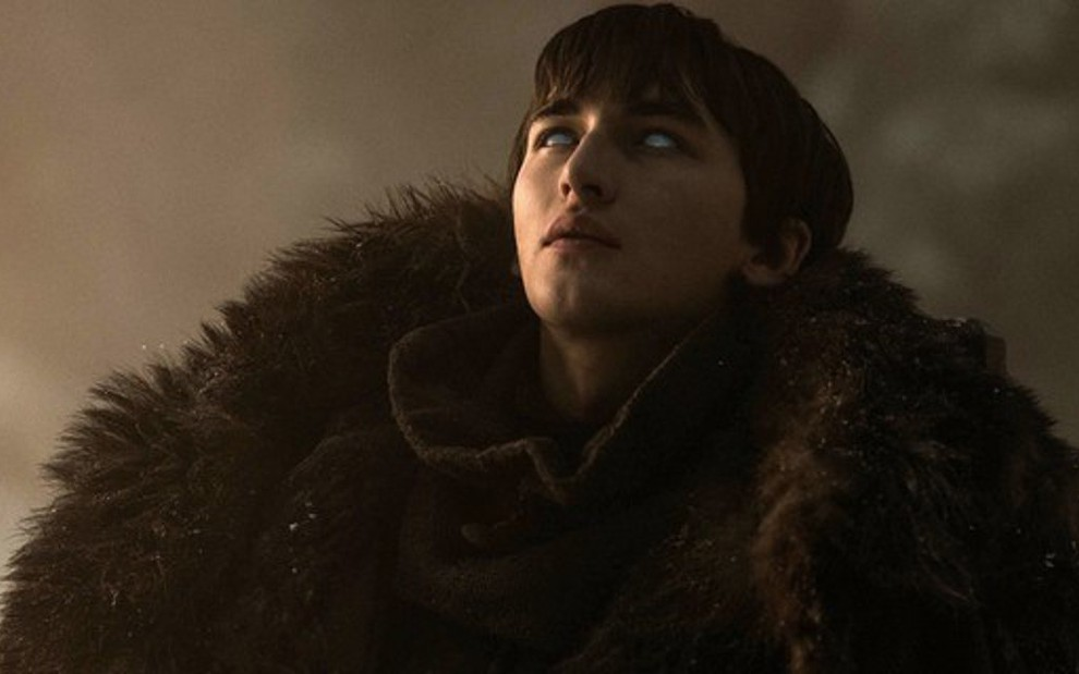 Isaac Hempstead-Wright na oitava e última temporada de Game of Thrones; série é franca favorita ao Emmy - Divulgação/HBO