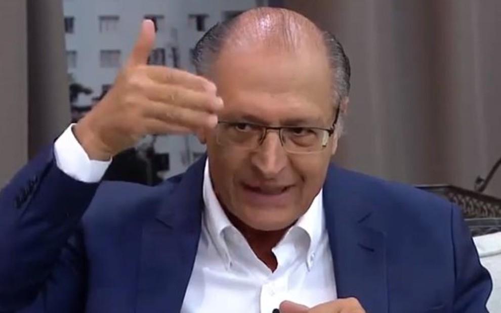 Geraldo Alckmin estreia como colunista do Todo Seu; ex-governador de SP falará sobre saúde e bem-estar - REPRODUÇÃO/GAZETA