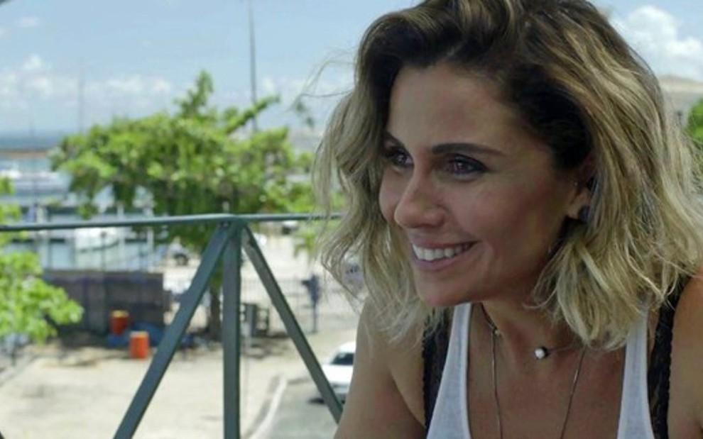 89819b6cf Luzia (Giovanna Antonelli) em cena da trama  DJ vai se reconciliar com amado