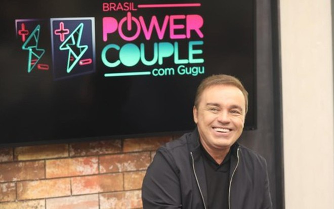 8124447b50 Gugu evita  estilo Leifert  para não interferir no jogo dos casais do Power  Couple · Notícias da TV