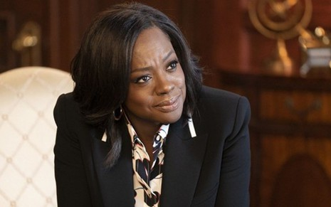 Viola Davis, vencedora do Oscar e do Emmy, na quinta temporada de How to Get Away with Murder - Divulgação/ABC