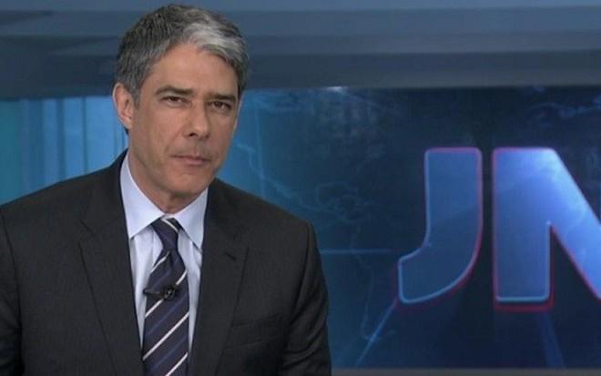 O apresentador William Bonner deve ficar afastado do JN para se recuperar de fratura - Divulgação/TV Globo