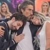 Marcos Mion consola Victor Coelho e Juju Salimeni, na última edição do Legendários - Edu Moraes/RecordTV