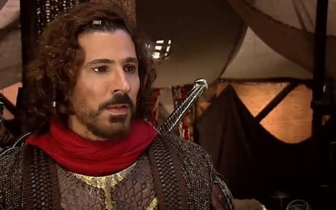 783dda9b406d3 Leonardo Bricio em cena de Rei Davi  reprise de minissérie bíblica tem dado  mais de