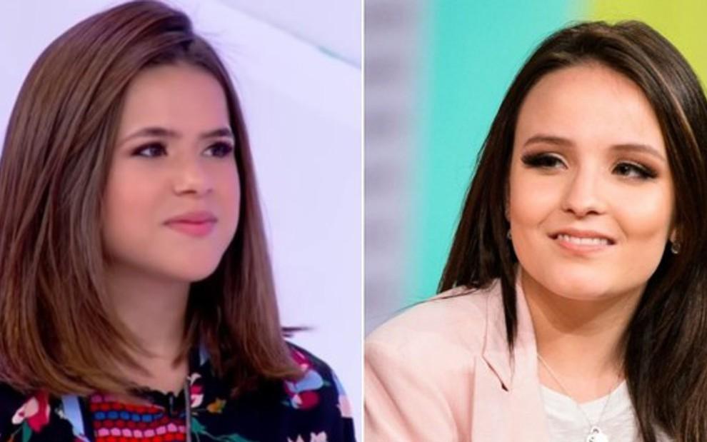 1d7e064efbf8e Maisa Silva e Larissa Manoela deixaram de ser prioridade no SBT e estão  livres para negociar