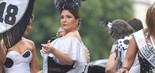 A cantora Maria Rita se divertiu no Cordão do Bola Preta, no sábado (2), no Rio (Daniel Pinheiro/Agnews)