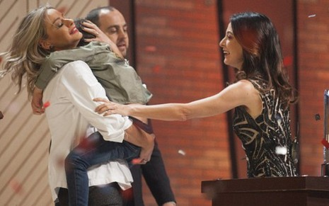 Maria Antonia Russi superou o favoritismo de Hugo Merchan e venceu a 5ª temporada do MasterChef - DIVULGAÇÃO/BAND