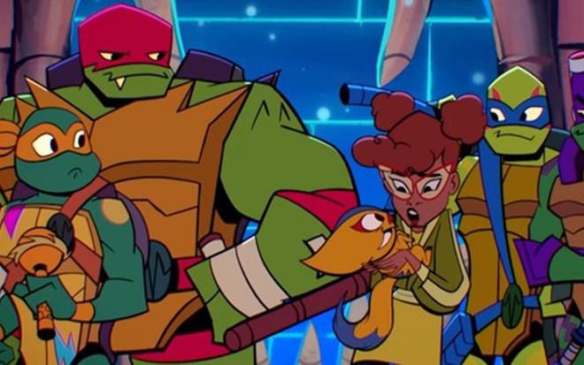 Nova Versao De Tartarugas Ninja Estreia No Brasil Com April Negra