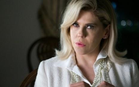 J Brbara Paz ser desmascarada por Duda Gloria Pires em O Outro Lado do Paraso - DivulgaoTV Globo
