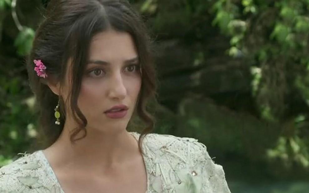 c3706cf94 Cecília (Anaju Dorigon) se casará em Orgulho e Paixão, mas vai se  surpreender