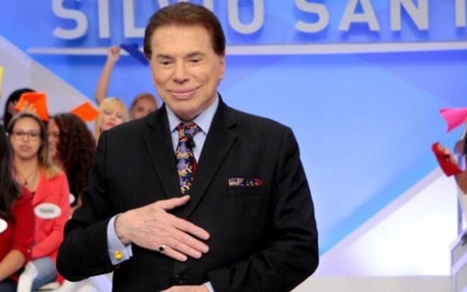 Silvio Santos em seu programa do último domingo (14): agora também nas redes sociais - Lourival Ribeiro/SBT