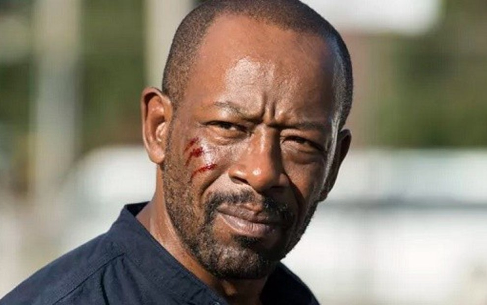 Lennie James na sétima temporada de Walking Dead; personagem abandona moral e mata - Divulgação/AMC
