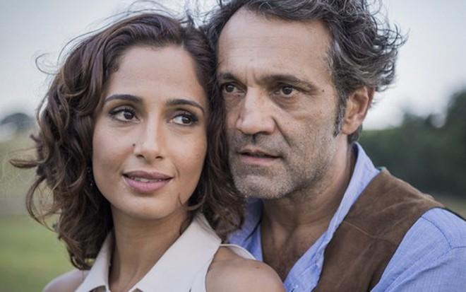 Camila Pitanga e Domingos Montagner: Tereza e Santo serão felizes no final de Velho Chico - Caiuá Franco/TV Globo