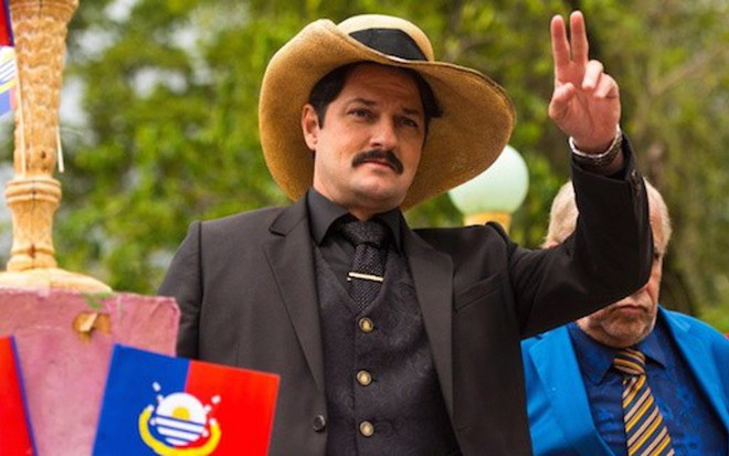 Marcelo Serrado (Carlos Eduardo) segue com maldades até o último capítulo de Velho Chico - Reprodução/TV Globo
