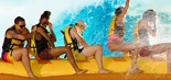 Sucesso nas praias, os bananas boats colocavam banhistas em emoções em alto-mar