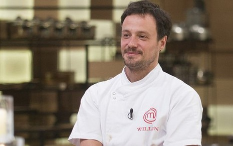 William Peters chegou como favorito à final do MasterChef Profissinais, mas acabou derrotado - FOTOS: CARLOS REINIS/BAND
