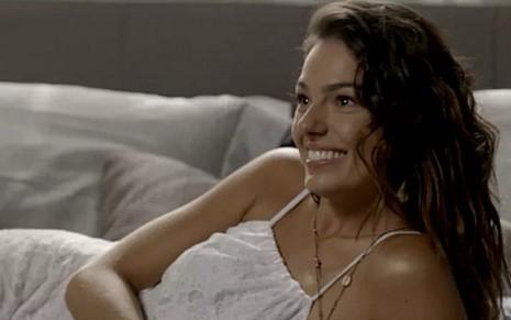 Isis Valverde (Ritinha) em A Força do Querer; sereia ficará indecisa até o último capítulo - Reprodução/TV Globo