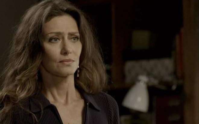 Maria Fernanda Cândido em A Força do Querer; Joyce descobrirá traição de falsa amiga - Reprodução/TV Globo