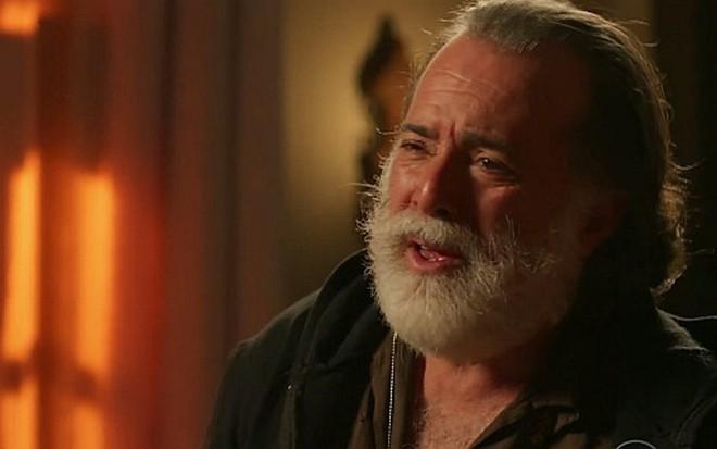 Z� Maria (Tony Ramos) acreditar� que o filho est� morto e ficar� desesperado - Reprodu��o/TV Globo