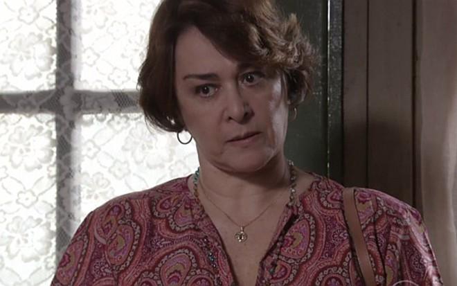 Nívea Maria (Zilda) em cena de Além do Tempo, novela das seis da Globo - Reprodução/TV Globo