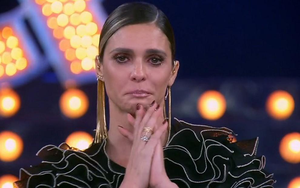 Mesmo com choro da apresentadora Fernanda Lima, Amor & Sexo perdeu para a Record no Ibope - REPRODUÇÃO/TV GLOBO