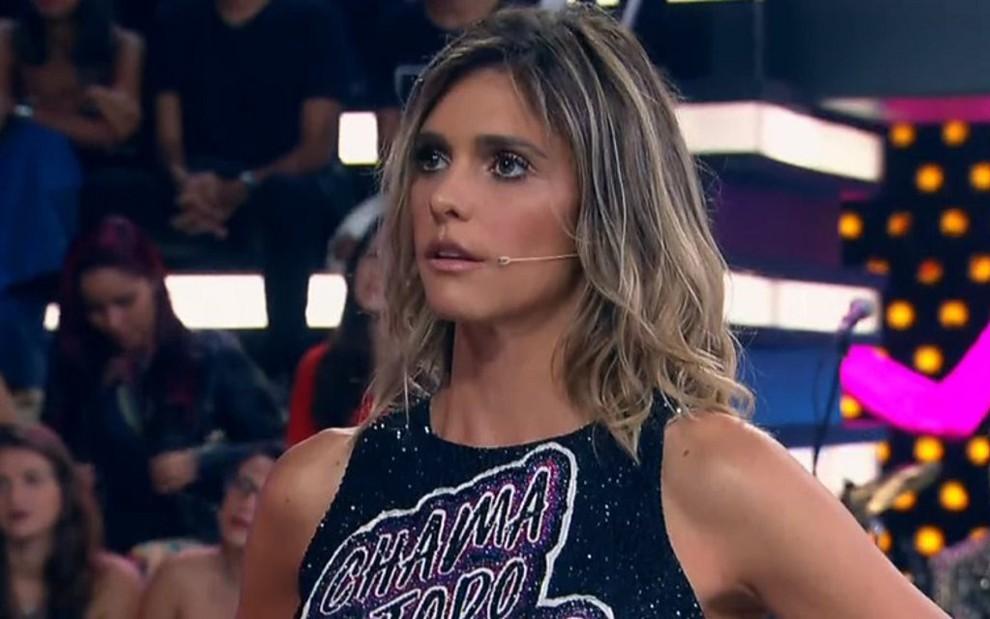 Fernanda Lima na estreia da 11ª temporada de Amor & Sexo: perdeu para reality da Record no Ibope - REPRODUÇÃO/TV GLOBO