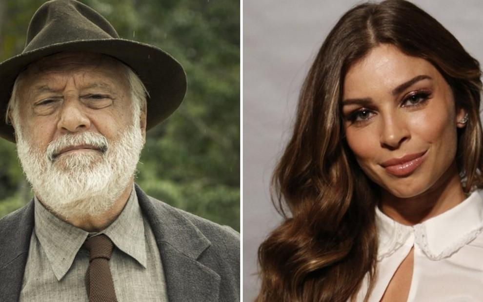 e21a07cd77b Antonio Fagundes e Grazi Massafera formarão casal com mais de 40 anos de  diferença em Bom