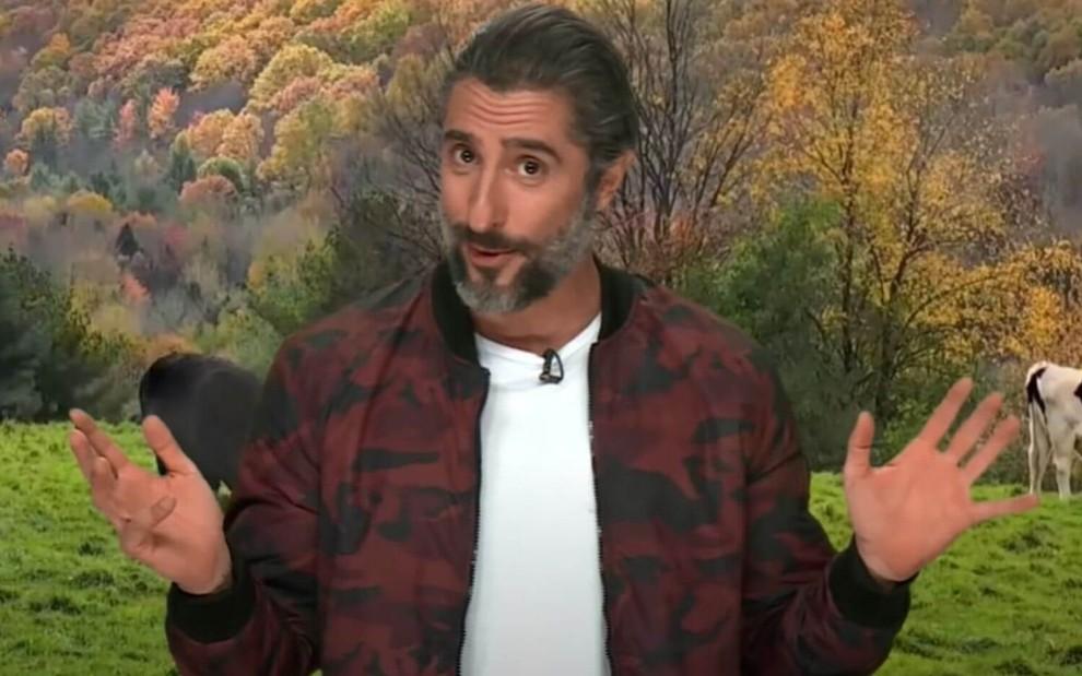 Marcos Mion A Fazenda Record TV