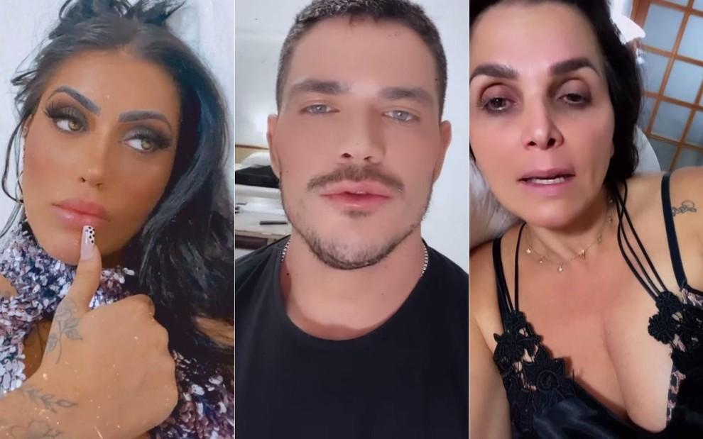 Mirella, JP e Luiza trocam acusações após fofoca com Stefani
