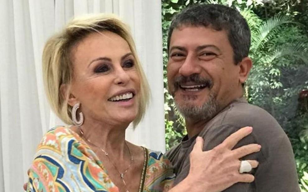 Perdi meu parceiro, amigo, filho', diz Ana Maria Braga sobre morte de Tom  Veiga · Notícias da TV