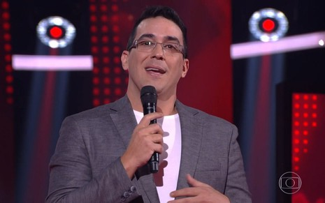 André Marques no comando do The Voice Kids neste domingo (4)