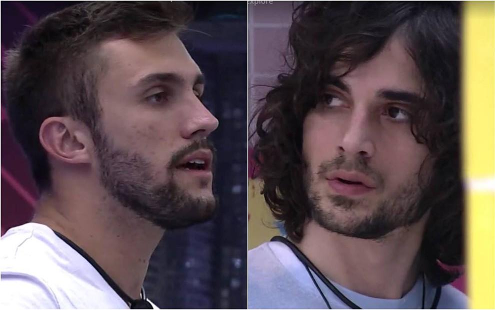 Arthur esclarece polêmica sobre combinação de votos em Fiuk no BBB21 · Notícias da TV