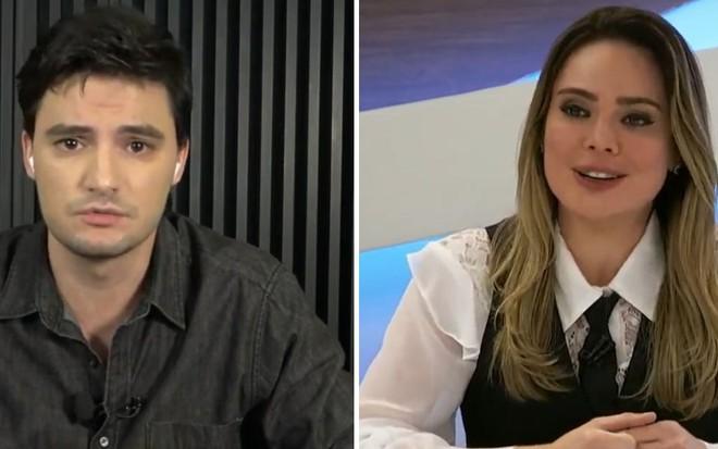 Após ataques de ódio, Felipe Neto e Rachel Sheherazade fazem as ...
