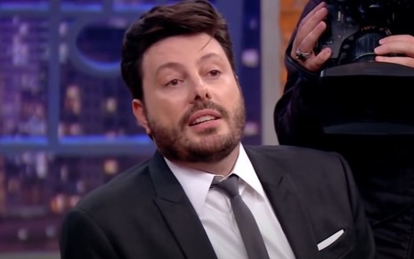 Danilo Gentili no comando do The Noite, do SBT