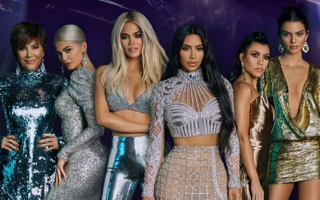 Foto de divulgação do reality Keeping Up with the Kardashians