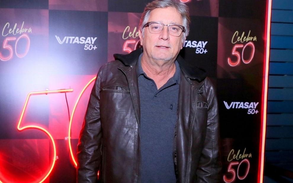 Eduardo Galvão em evento musical em agosto de 2019, no Rio de Janeiro