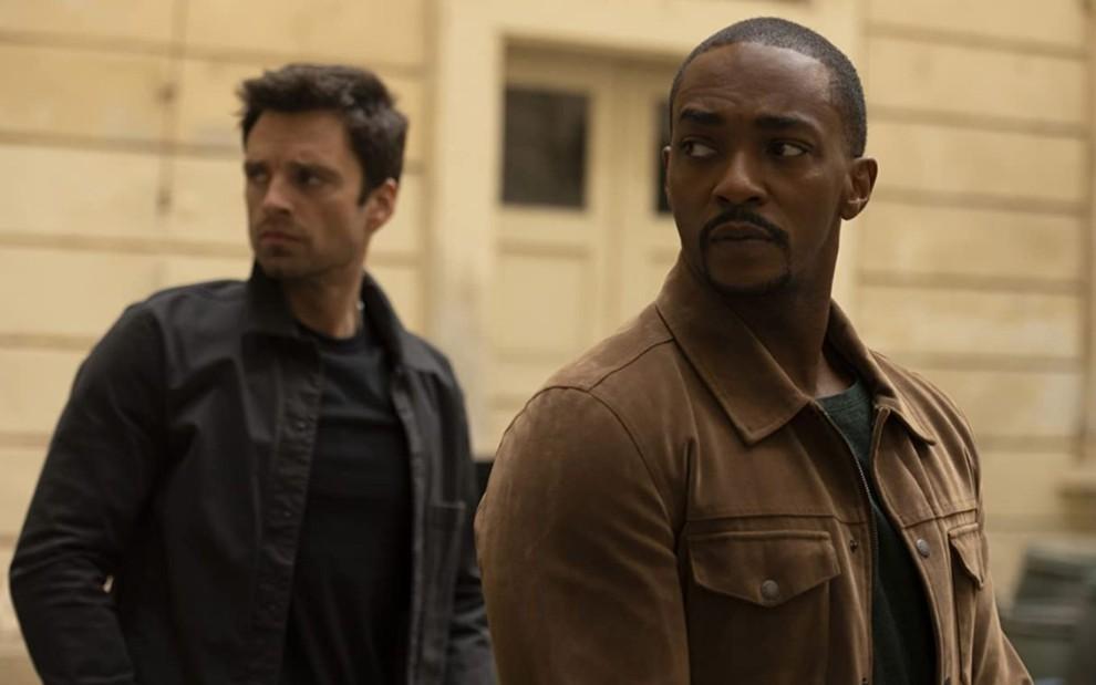 Sam e Bucky se aliam a antigo inimigo em episódio de Falcão e o Soldado Invernal · Notícias da TV