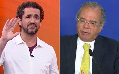 Felipe Andreoli e Paulo Guedes