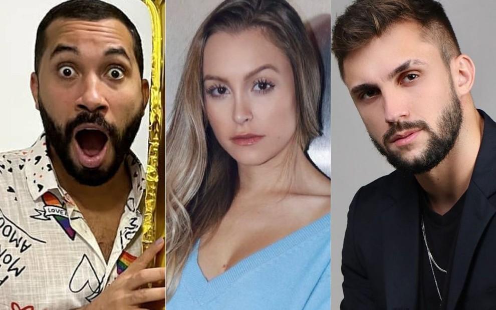 Gil do Vigor deixa Arthur sem graça em live após mostrar Carla Diaz · Notícias da TV