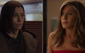 Jessica Biel em Limetown, do Facebook, e Jennifer Aniston em The Morning Show, drama do Apple TV+