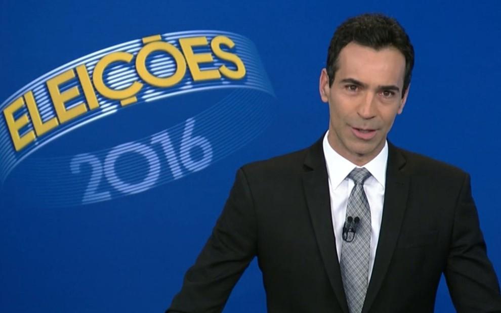 Rede Globo Cesar Tralli Debate