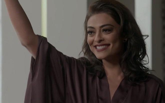 Totalmente Demais: Carolina samba na cara de Arthur após toco de Eliza – Notícias da TV