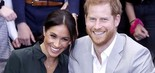 Príncipe Harry e Meghan Markle em foto publicada no Instagram oficial do duque e da duquesa de Sussex