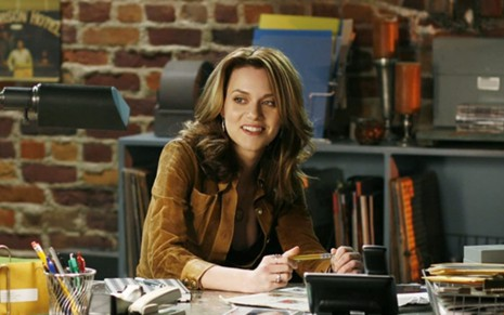 Hilarie Burton em cena de One Tree Hill (2003-2012)