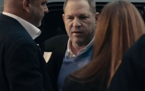 O produtor Harvey Weinstein em cena do documentário Untouchable, do streaming Hulu